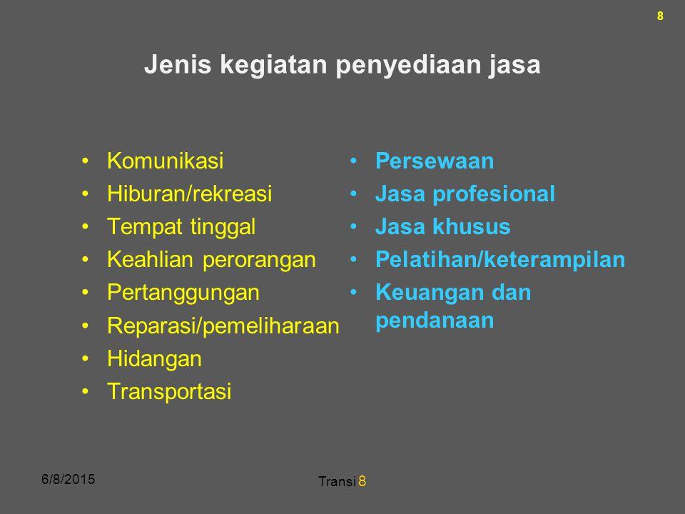 29 ……ada nasihat yang patut disimak dunia usaha Indonesia yang diberikan Marilyn Moats Kennedy, seorang ahli manajemen yang menulis beberapa buku tentang realitas manajemen.