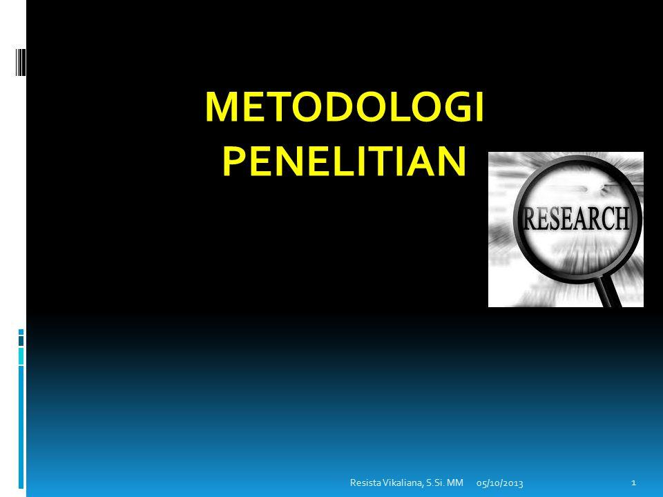 5 MENARIK KESIMPULAN 4 UJI HIPOTESIS 3 MENYUSUN HIPOTESIS 2 MENGKAJI TEORI 1 MENETAPKAN MASALAH TAHAPAN RISET secara UMUM Variabel penelitian Sumber data Instrumen Populasi & Sampling Pengumpulan data Analisis data Merumuskan Hipotesis Kajian teori Kajian penelitian terdahulu Menemukan masalah Memilih masalah Merumuskan masalah Menyimpulkan Rekomendasi 21 Prof.