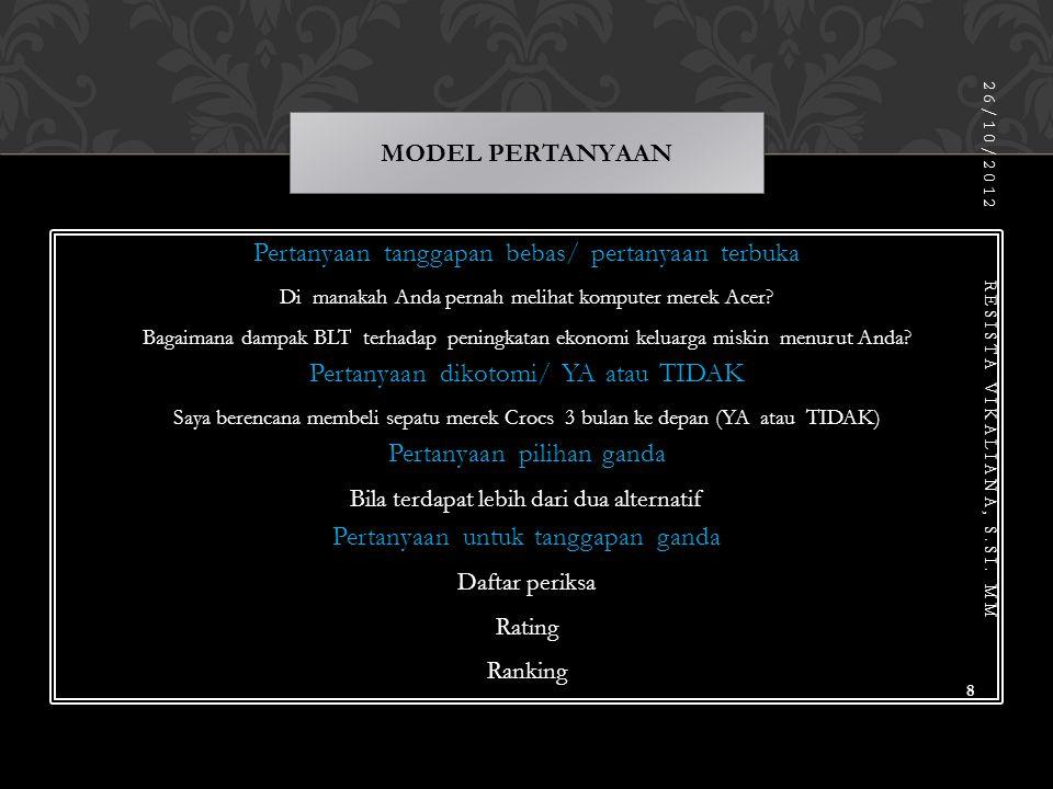 Prof.Anwar Sanusi. 2011. Metodologi Penelitian Bisnis.