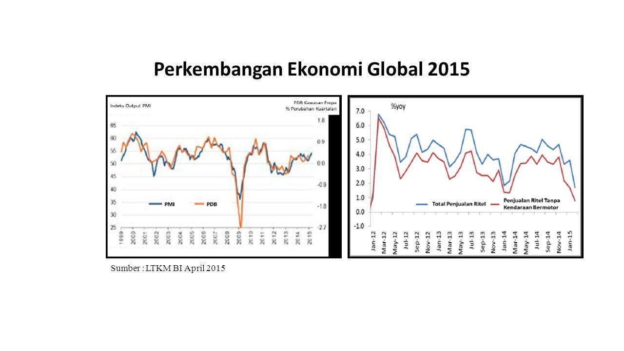 Perkembangan Ekonomi Global 2015 Perekonomian Jepang yang diperkirakan akan mengalami perbaikan secara moderat.