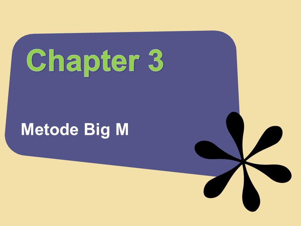 Metode Big M