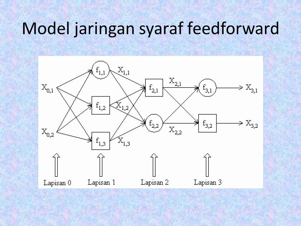 Model jaringan syaraf feedforward
