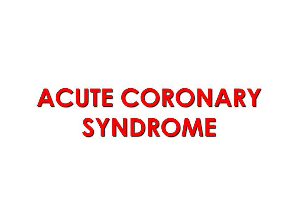 Kriteria diagnosis IMA (WHO) Nyeri dada yang spesifik.