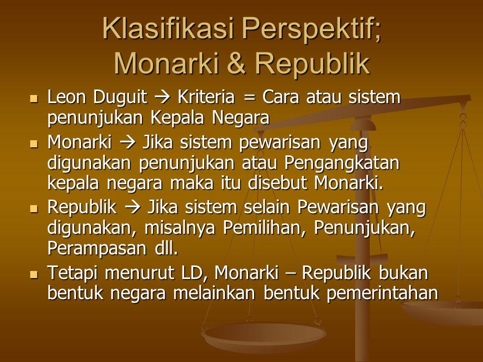 Bentuk2 Pemerintahan Menurut Leon Duguit Republik  Rep.