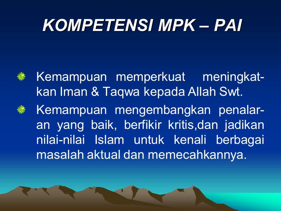 2.Eksistensi Manusia Dalam Islam A.