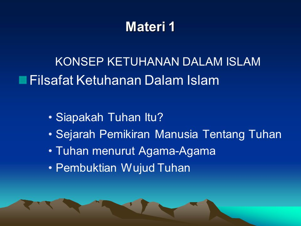 PERBEDAAN PRINSIP ANTARA HAM DARI SUDUT PANDANG ISLAM & BARAT ISLAM BARAT Bersifat Teosentris: sgl.