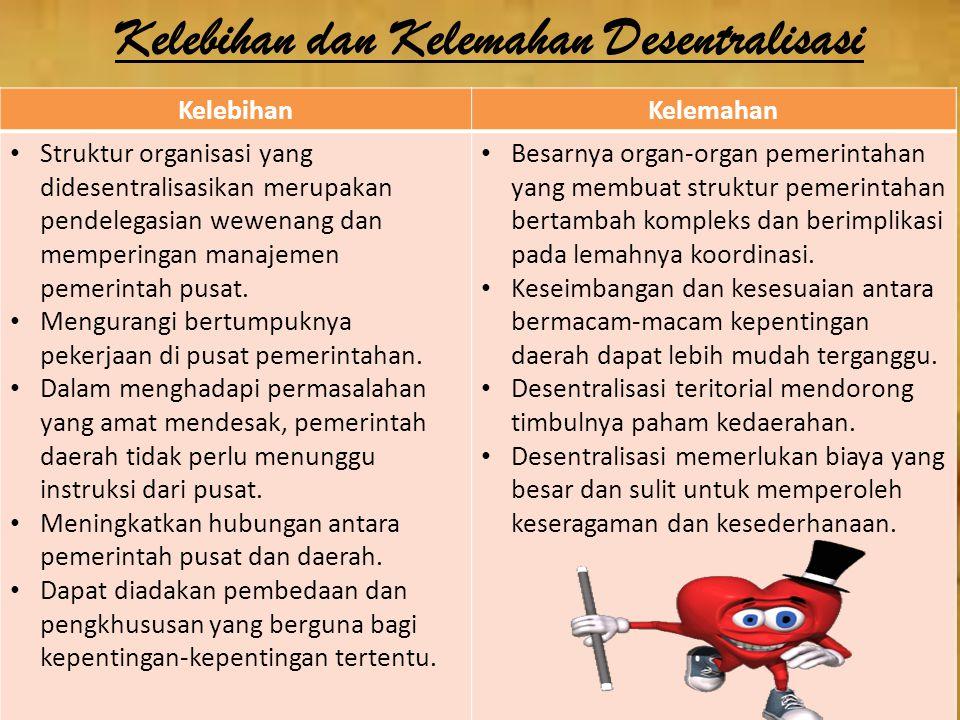 Selain itu terdapat lima prinsip dalam penyelenggaraan pemerintahan daerah 1.