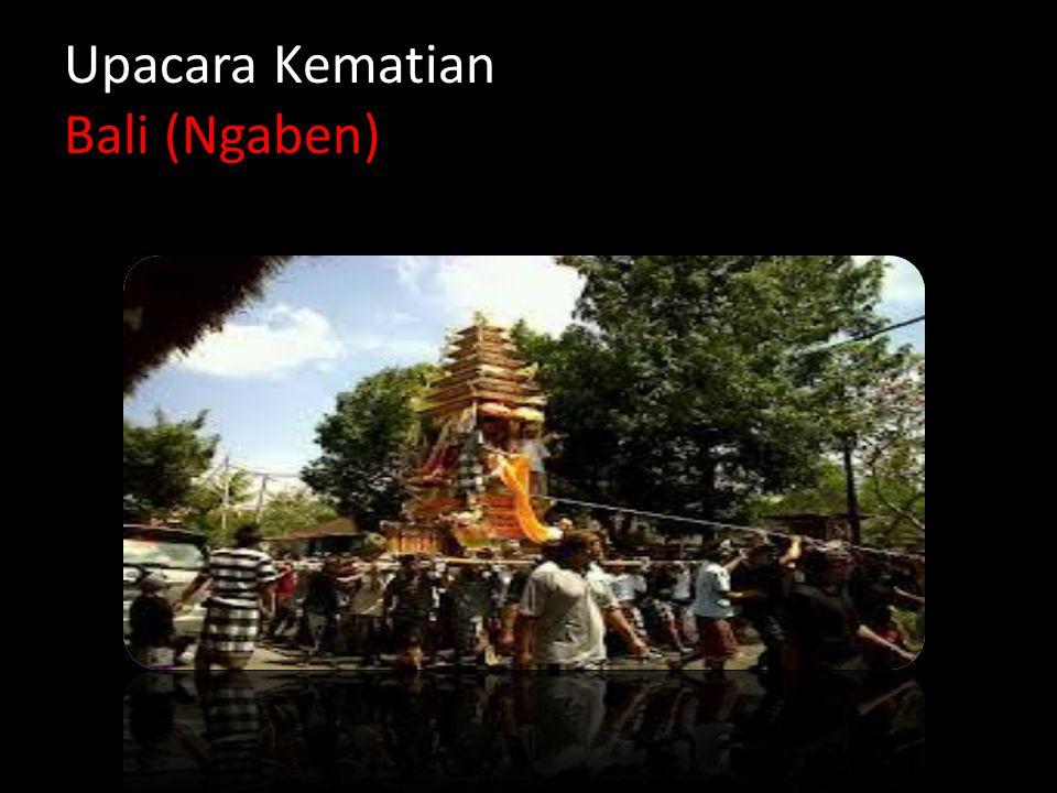 Upacara Kematian Bali (Ngaben)
