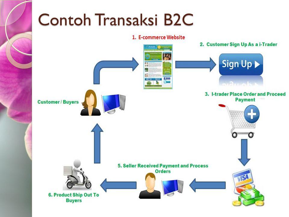 Contoh Transaksi B2C