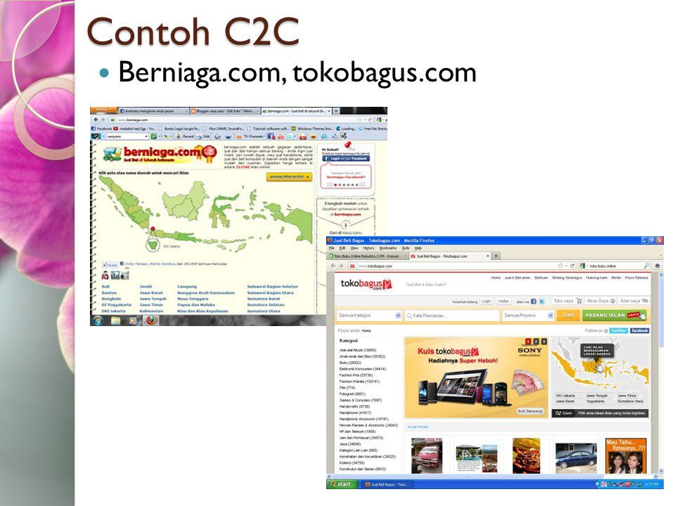 Contoh C2C Berniaga.com, tokobagus.com