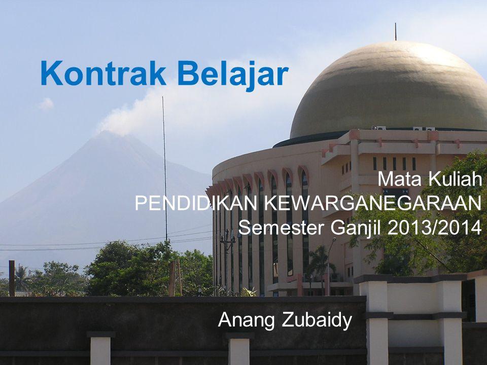 DATA DIRI Anang Zubaidy Jl. Godean Km. 7,5 Yogyakarta 08121555001 @anangzubaidy