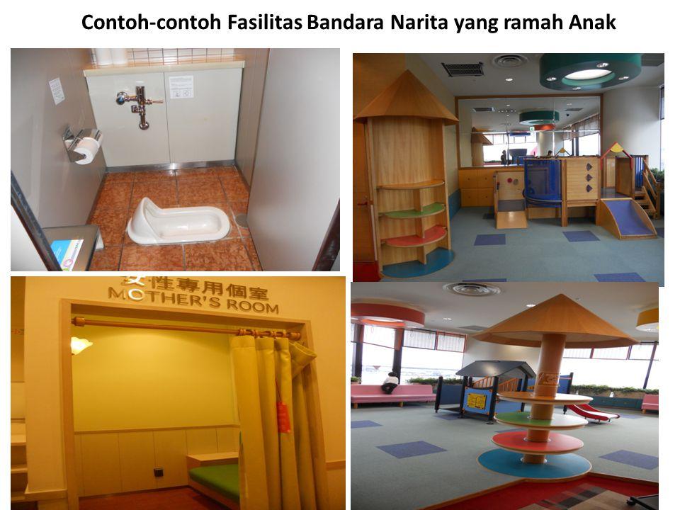 38 Contoh-contoh Fasilitas Bandara Narita yang ramah Anak