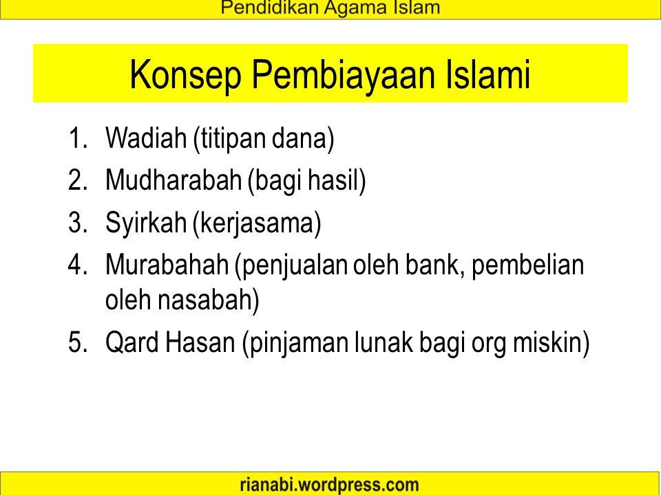 BANK SYARIAH Prinsip utama perbankan islami adalah menghindarkan diri dan menjauhkan diri dari unsur-unsur riba dengan menggantinya dengan sistem bagi