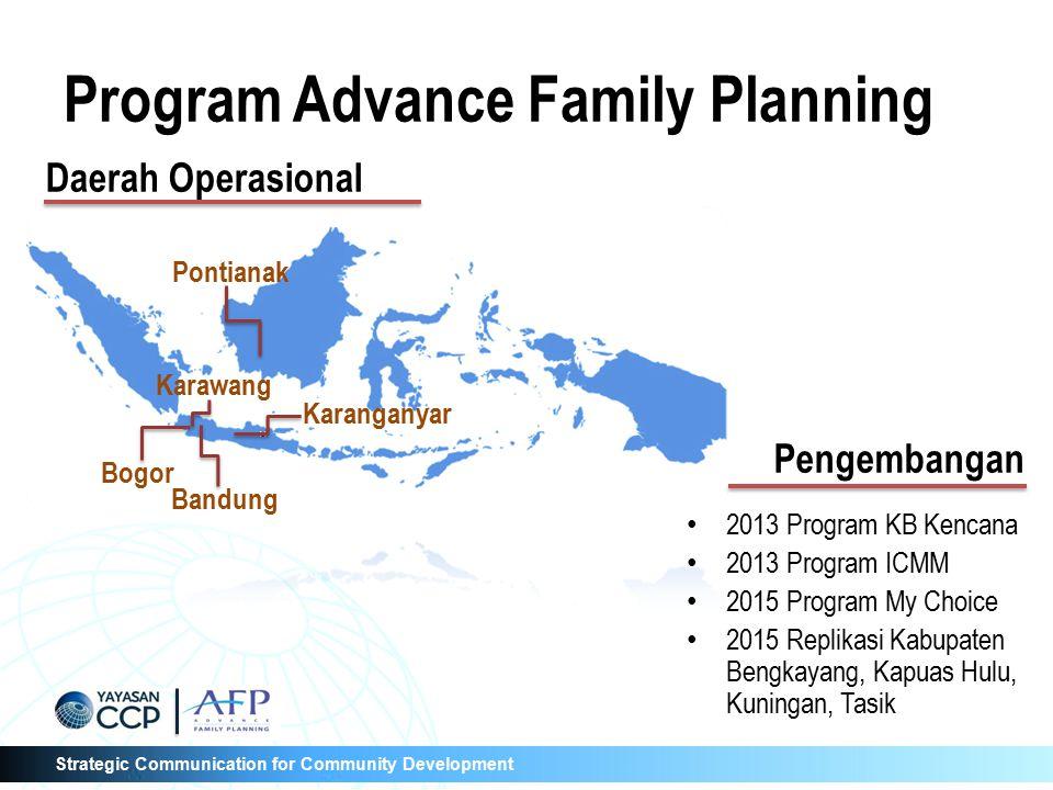 Strategic Communication for Community Development Terima Kasih Matur Suwun