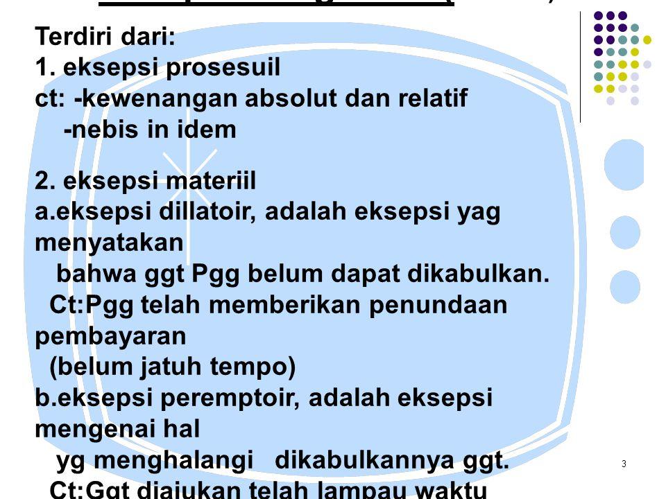 14 SITA JAMINAN Tujuan: Untuk menjamin pelaksanaan suatu putusan.