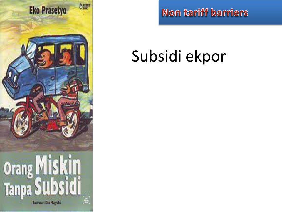 Subsidi ekpor