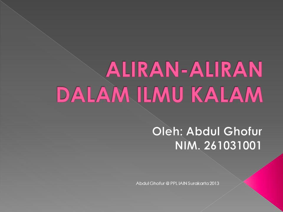  Harjan Syuhada, dkk.2011. Akidah Akhlak. Jakarta: Bumi Aksara.