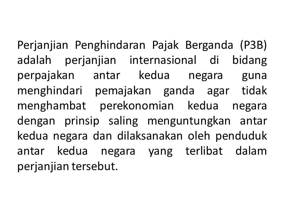 23 Kedudukan hukum P3B di hadapan UU PPh Kedudukan tax treaty: lex specialis dari UU PPh.