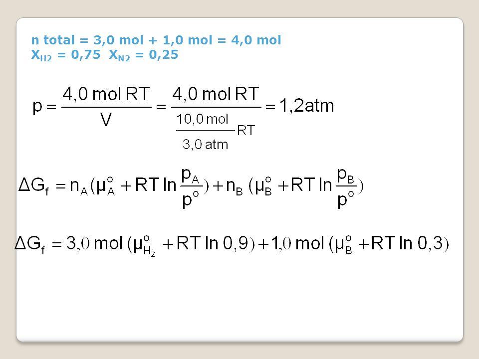  G mix = G f - G i Jadi fungsi gibbs pencampuran jika pemisahnya diambil adalah -6,5 kJ
