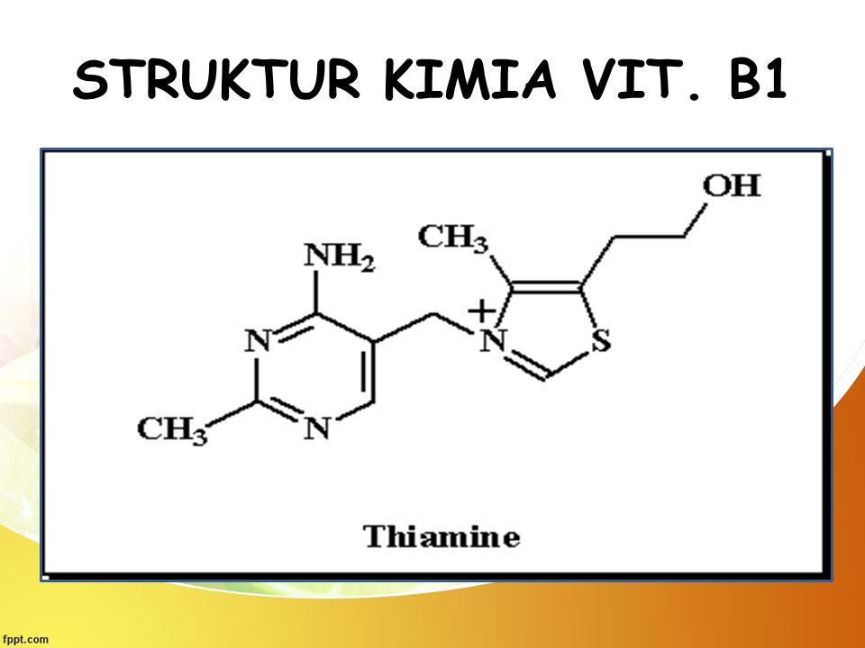 STRUKTUR KIMIA VIT. B1