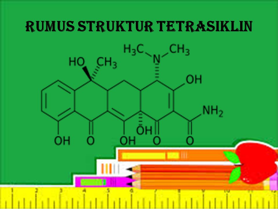 Rumus struktur Tetrasiklin