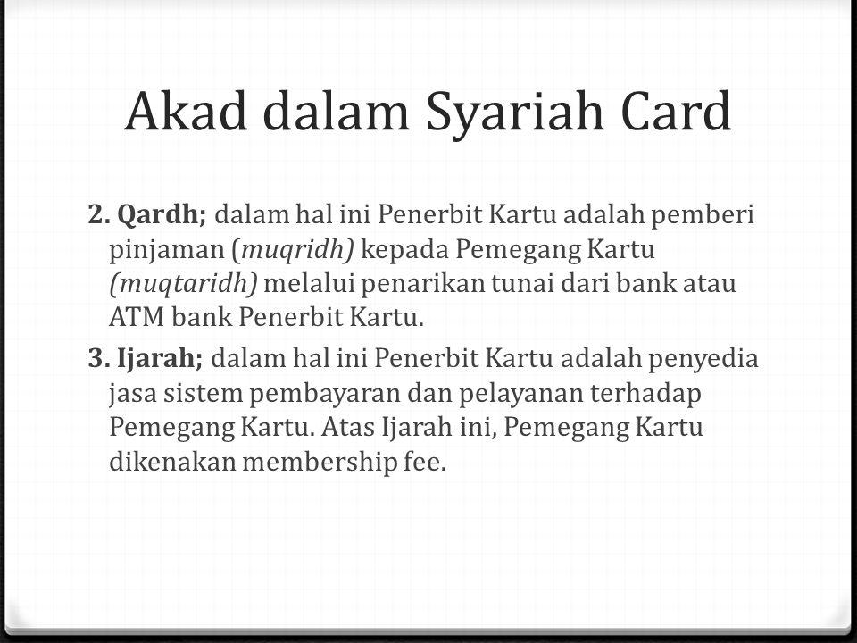 Akad dalam Syariah Card 2.