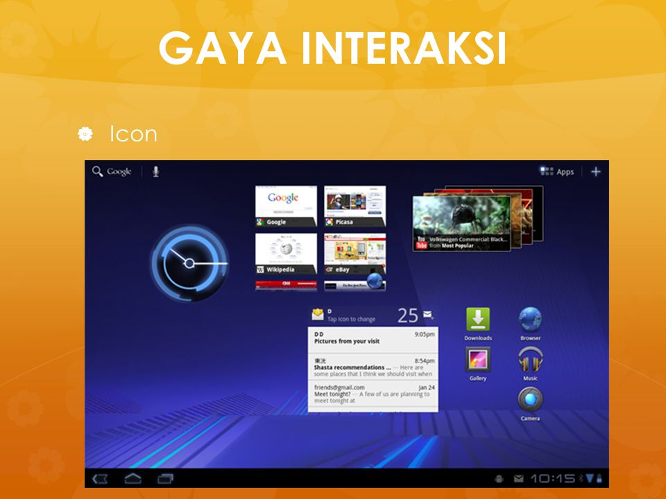 GAYA INTERAKSI   Icon
