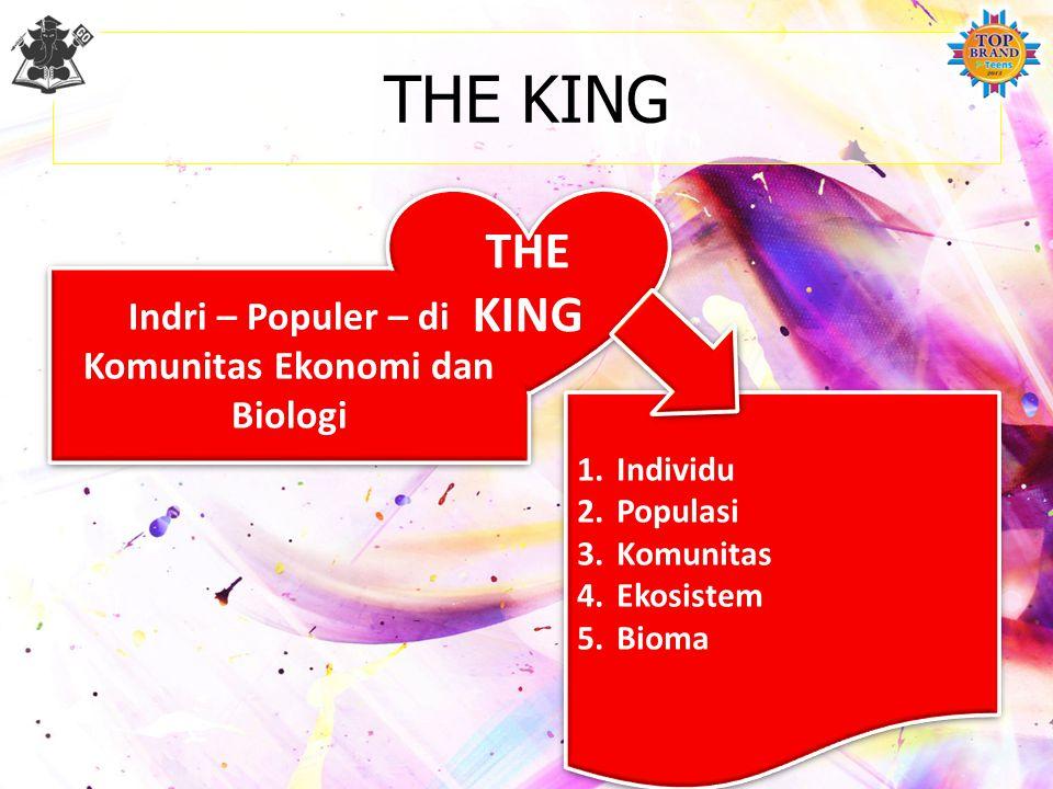 TINGKAT ORGANISASI Individu Satuan yang kompleks sebagai hasil dari kumpulan berbagai sistem organ. Populasi Sekumpulan individu sejenis. Komunitas Se