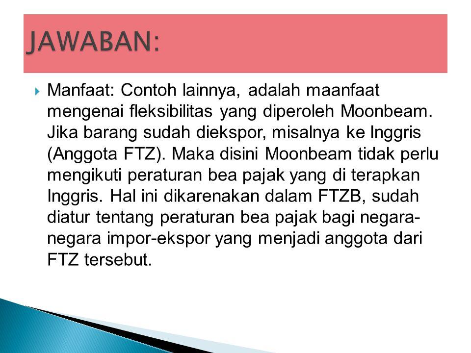  Manfaat: Contoh lainnya, adalah maanfaat mengenai fleksibilitas yang diperoleh Moonbeam.