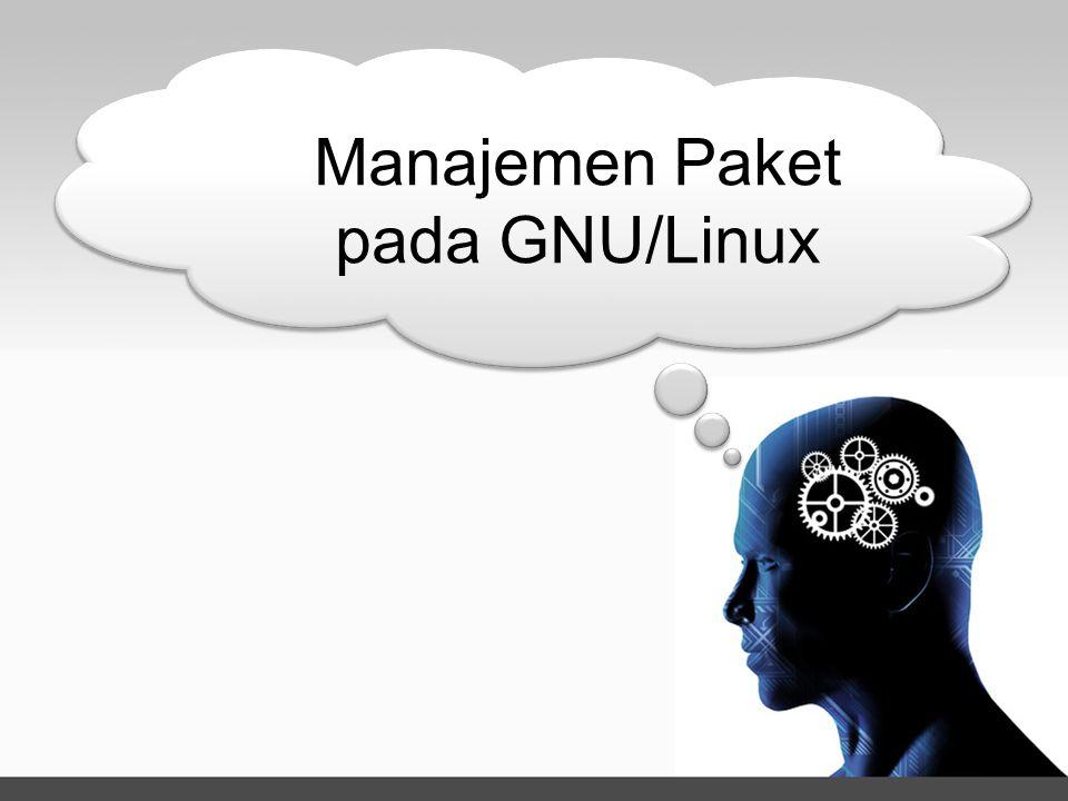 Manajemen Paket pada GNU/Linux