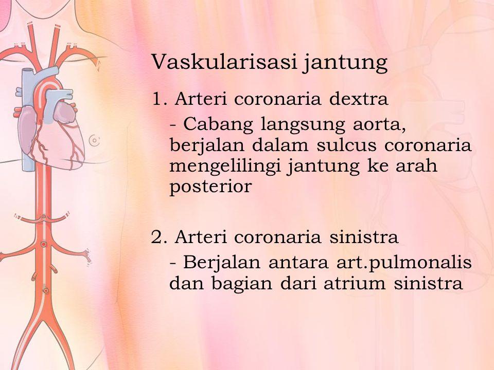 Vaskularisasi jantung 1.