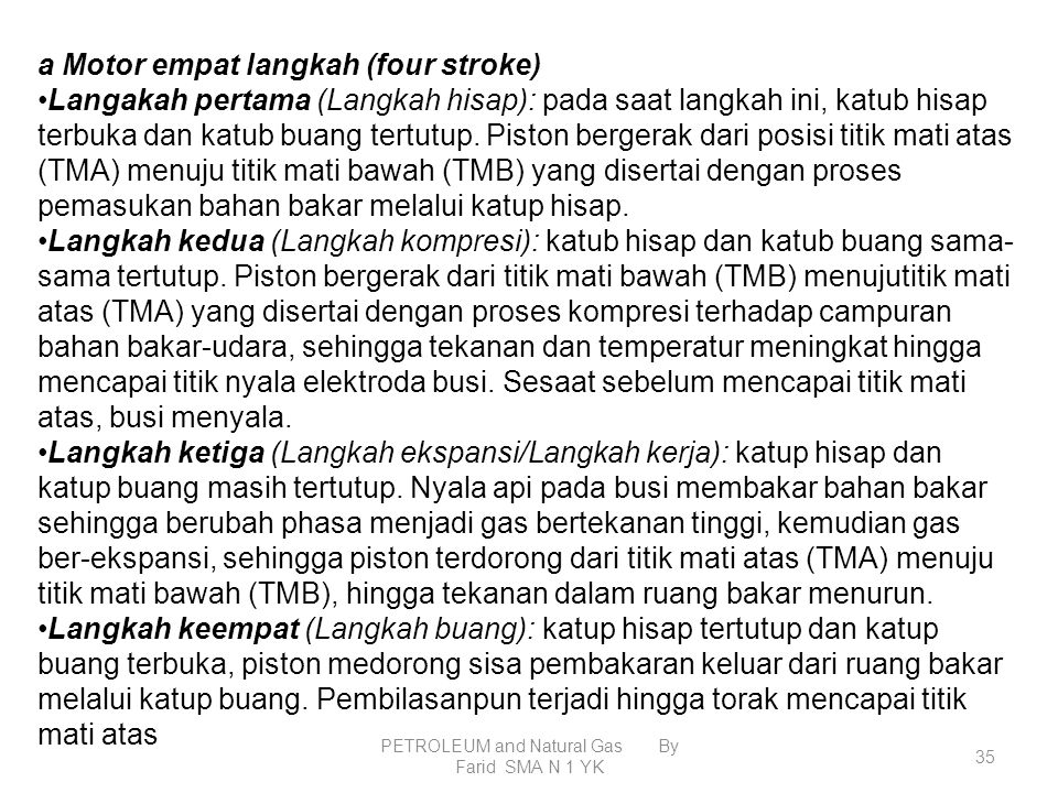 PETROLEUM and Natural Gas By Farid SMA N 1 YK 34