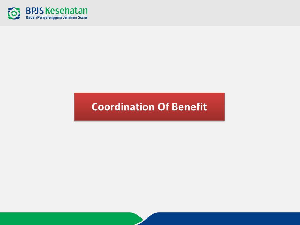 Manfaat Jaminan Kesehatan Coordination Of Benefit