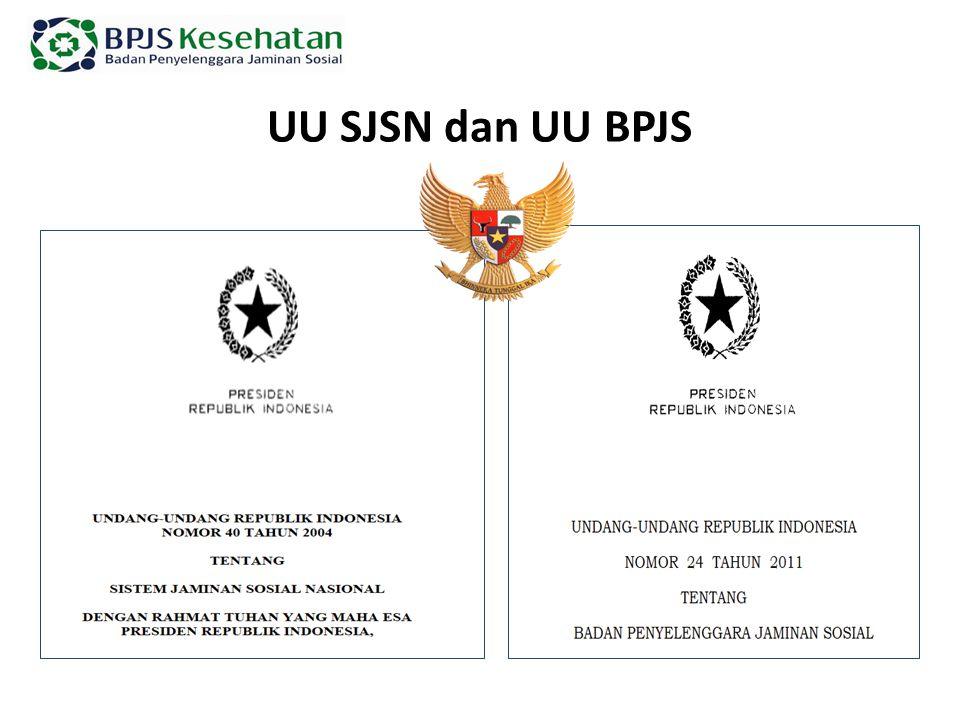 UU SJSN dan UU BPJS