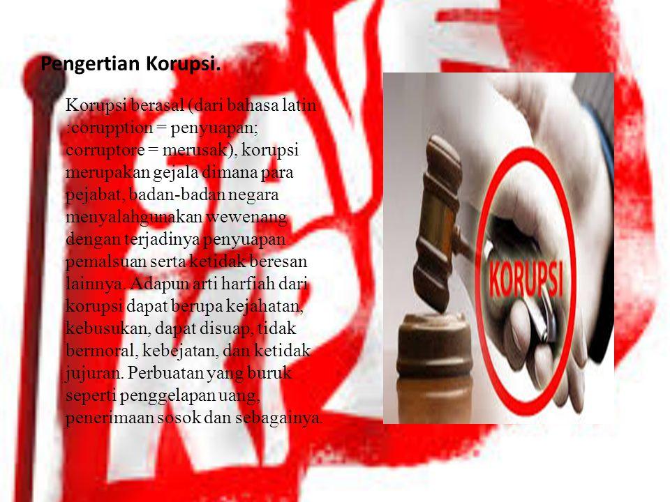 TUGAS PRESENTASI TIK TENTANG KORUPSI DISUSUN OLEH : DWI RIZKI ANISA PANDIA & ANNISA NASUTION DUA BELAS IPA1