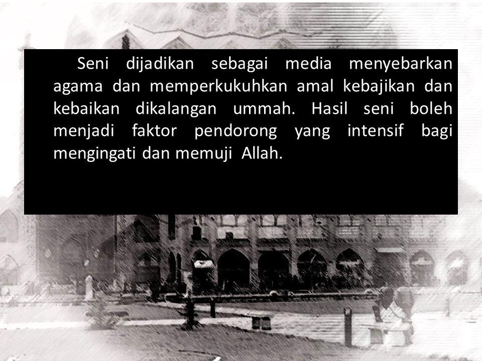 Contoh Seni Budaya Kosmopolit Masa Rasulullah Pada masa awal Islam, Rasulullah Saw berkhutbah hanya dinaungi sebuah pelepah kurma. Kemudian, tatkala k