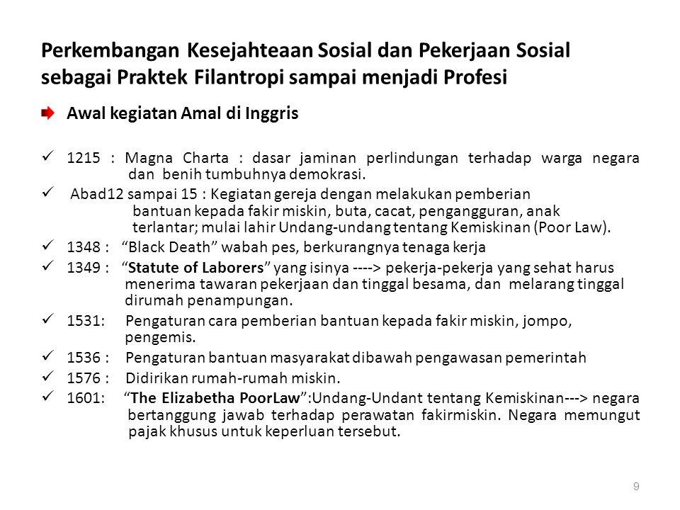 Pekerjaan Sosial Beberapa faktor  untuk mendefinisikan tentang Pekerjaan Sosial :  Di dalam setiap situasi pertolongan, pekerja sosial berkepentingan untuk memberikan fasilitas agar terjadi perubahan yang direncanakan.