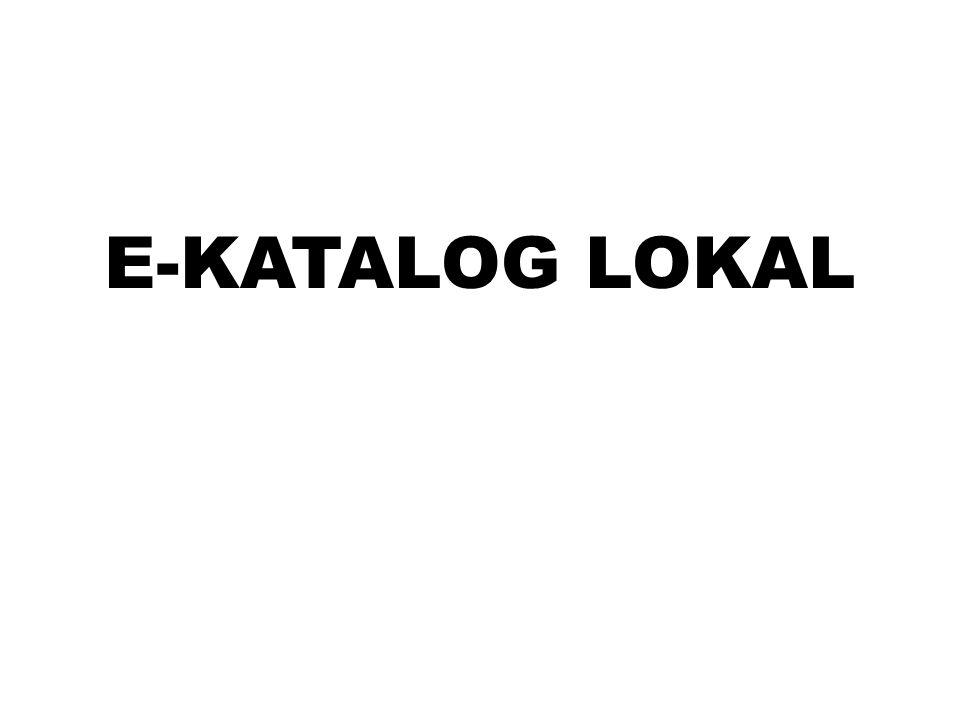E-KATALOG LOKAL
