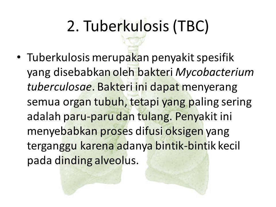 Penyakit yang disebabkan oleh virus influenza. dengan gejala antara lain pilek, hidung tersumbat, bersin-bersin dan tenggorokan gatal. 1. Influenza KE