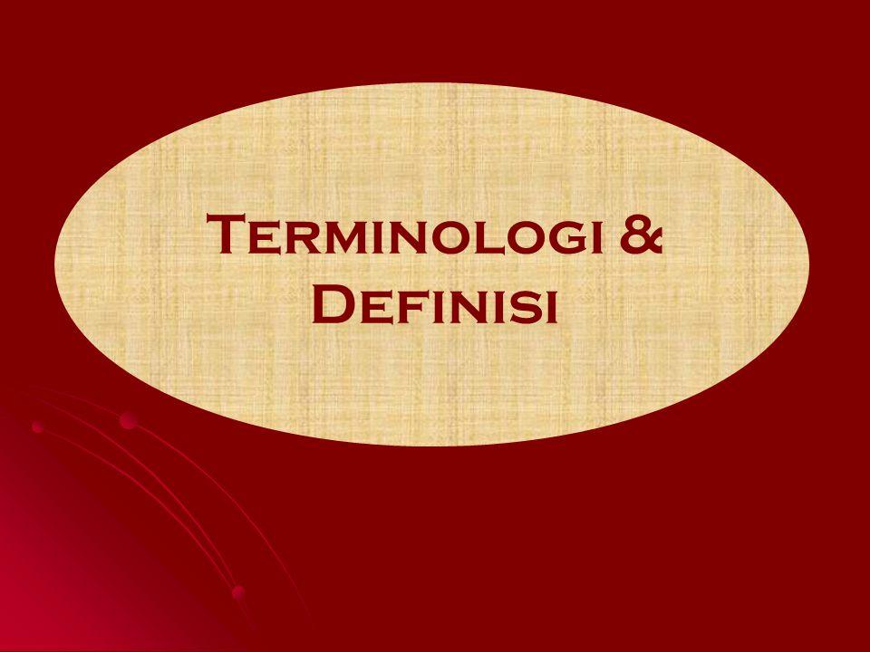 Terminologi & Definisi