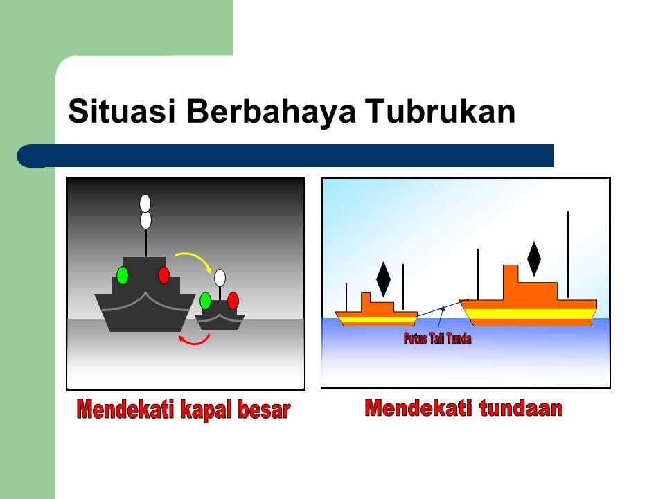 Situasi Berbahaya Tubrukan