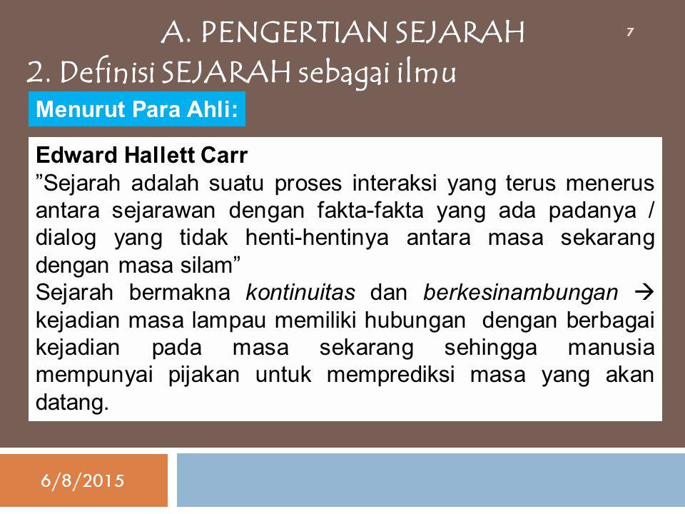 abad 5 M proses masuk dan berkembangnya agama besar abad 14 M di Indonesia (Hindu,Budha, dan Islam) abad 16 M proses penjajahan bangsa pertengahan asing terhadap Indonesia abad 20 M KRONOLOGIS SEJARAH INDONESIA 6/8/2015 28