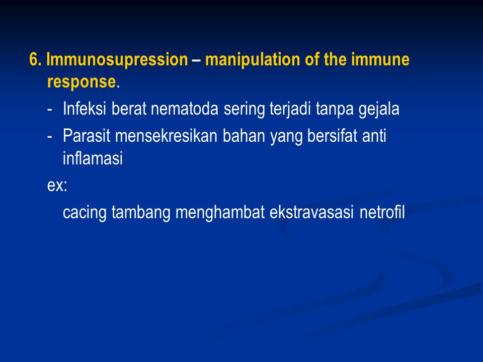 3.Molecular mimicry.