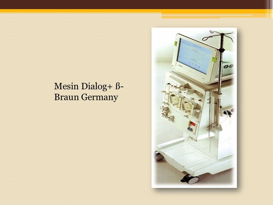 Mesin Dialog+ ß- Braun Germany