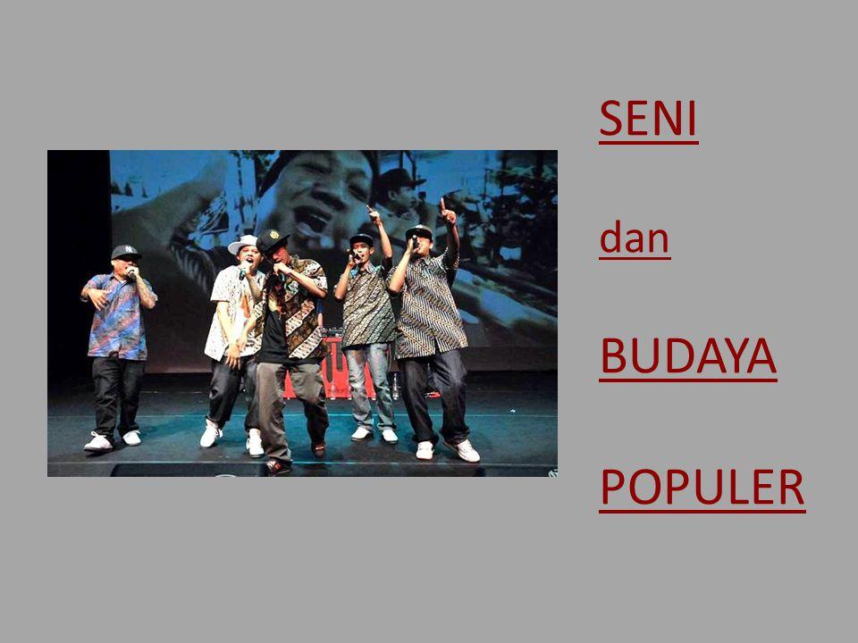 Lansekap Budaya Pop pada era Kontemporer/ Pasca-Reformasi Media dan budaya pop: lanskap budaya yang dipraktikan, disebarkan, dipasarkan, dan dimediakan dalam kehidupan sehari-hari di tengah masyarakat Indonesia kontemporer (Fredy Guty) Resepsi budaya pop sebagai 'medan makna' Peran teknologi – generasi sosial media 'Generasi visual' vs.