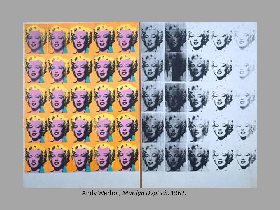 Andy Warhol, Marilyn Dyptich, 1962.