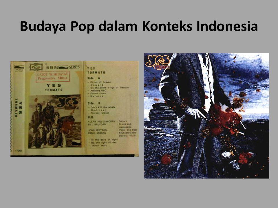 Budaya Pop dalam Konteks Indonesia