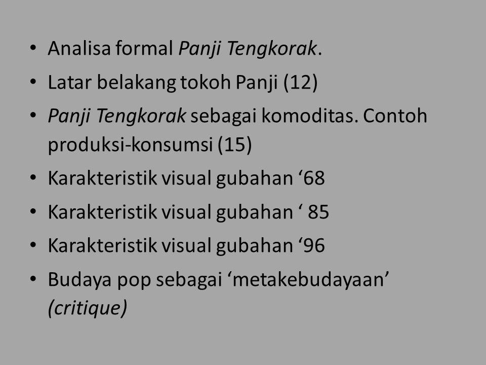 Analisa formal Panji Tengkorak.Latar belakang tokoh Panji (12) Panji Tengkorak sebagai komoditas.