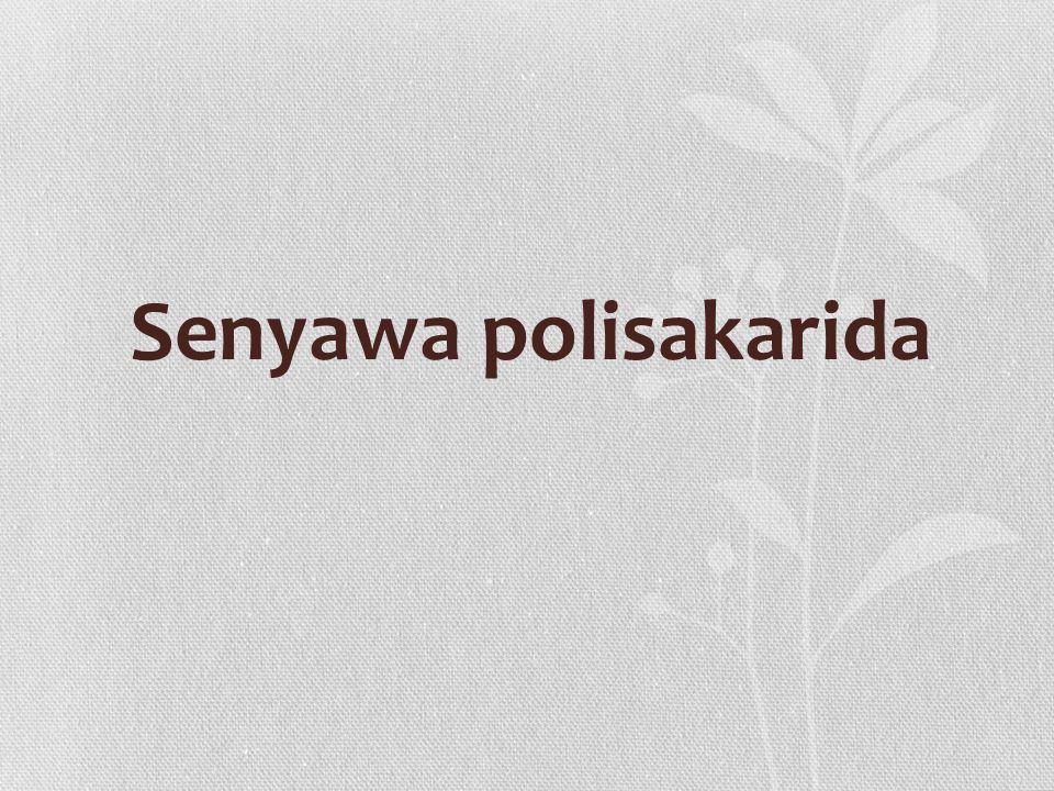 Senyawa polisakarida