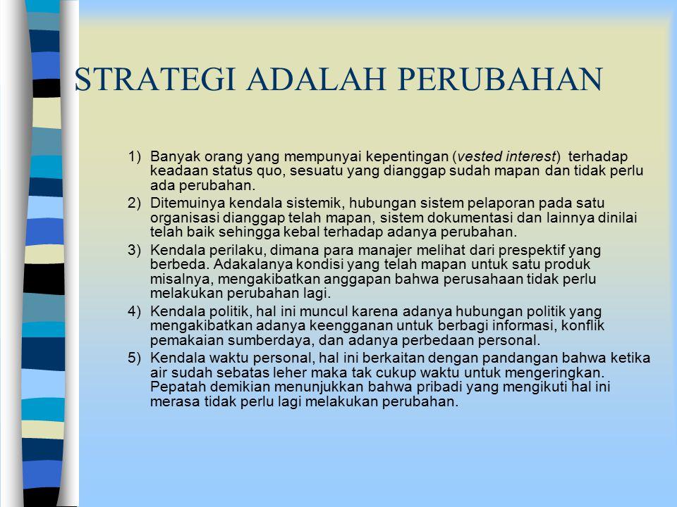 Siapa Yang Mengimplementasikan Strategi ?.